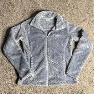 Columbia gray fleece jacket